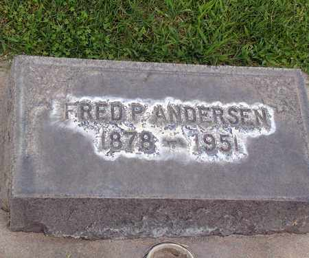ANDERSEN, FRED P. - Sutter County, California | FRED P. ANDERSEN - California Gravestone Photos