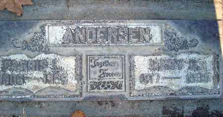 ANDERSEN, MARY ELAINE - Sutter County, California | MARY ELAINE ANDERSEN - California Gravestone Photos