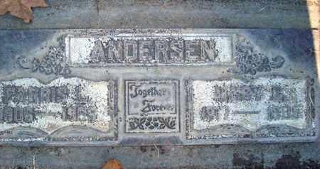 ANDERSEN, FARRIS LORAINE - Sutter County, California | FARRIS LORAINE ANDERSEN - California Gravestone Photos