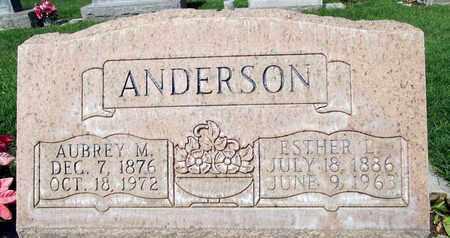 ANDERSON, AUBREY MILLER - Sutter County, California | AUBREY MILLER ANDERSON - California Gravestone Photos