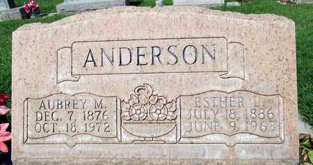 ANDERSON, ESTER L. - Sutter County, California | ESTER L. ANDERSON - California Gravestone Photos