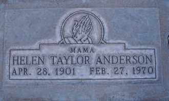 ANDERSON, HELEN AUGUSTA - Sutter County, California | HELEN AUGUSTA ANDERSON - California Gravestone Photos