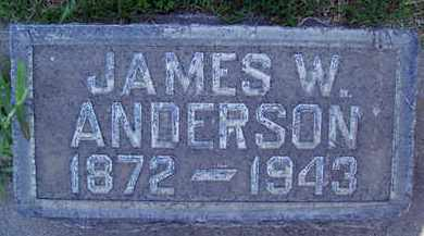 ANDERSON, JAMES WILLIAM - Sutter County, California | JAMES WILLIAM ANDERSON - California Gravestone Photos
