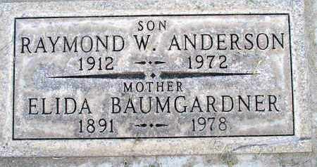 BAUMGARDNER, ELIDA C. - Sutter County, California | ELIDA C. BAUMGARDNER - California Gravestone Photos