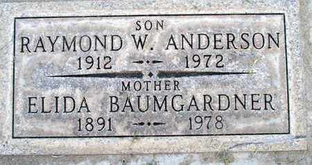 ANDERSON, RAYMOND WALTER - Sutter County, California | RAYMOND WALTER ANDERSON - California Gravestone Photos