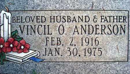 ANDERSON, VINCIL OLNEY - Sutter County, California   VINCIL OLNEY ANDERSON - California Gravestone Photos