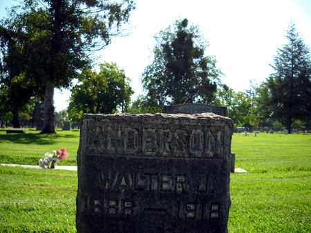 ANDERSON, WALTER J. - Sutter County, California | WALTER J. ANDERSON - California Gravestone Photos