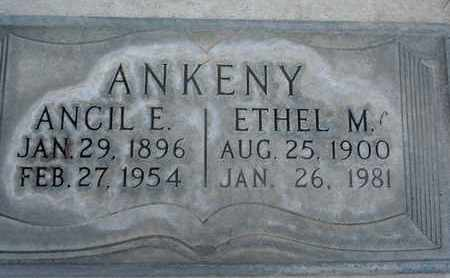 ANKENY, ANCIL ELIHUE - Sutter County, California | ANCIL ELIHUE ANKENY - California Gravestone Photos