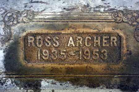 ARCHER, ELMER ROSS - Sutter County, California   ELMER ROSS ARCHER - California Gravestone Photos