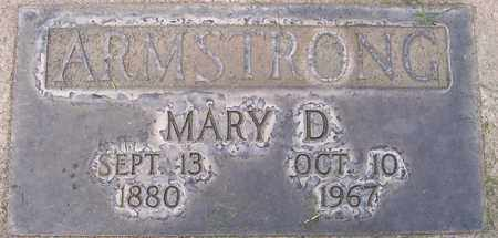 ARMSTRONG, MARY D. - Sutter County, California   MARY D. ARMSTRONG - California Gravestone Photos