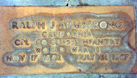 ARMSTRONG, RALPH JAMES - Sutter County, California   RALPH JAMES ARMSTRONG - California Gravestone Photos