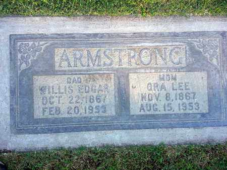 ARMSTRONG, WILLIS EDGAR - Sutter County, California | WILLIS EDGAR ARMSTRONG - California Gravestone Photos