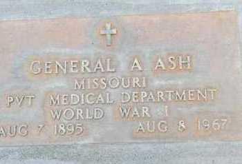 ASH, GENERAL AARON - Sutter County, California   GENERAL AARON ASH - California Gravestone Photos