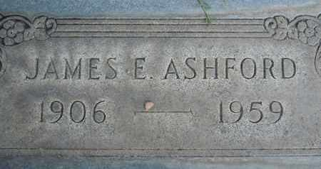 ASHFORD, JAMES EDWARD - Sutter County, California | JAMES EDWARD ASHFORD - California Gravestone Photos