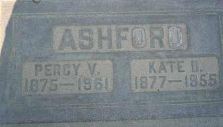 ASHFORD, PERCY VOLNEY - Sutter County, California | PERCY VOLNEY ASHFORD - California Gravestone Photos