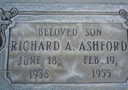 ASHFORD, RICHARD ALLEN - Sutter County, California | RICHARD ALLEN ASHFORD - California Gravestone Photos