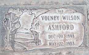ASHFORD, VOLNEY WILSON - Sutter County, California | VOLNEY WILSON ASHFORD - California Gravestone Photos