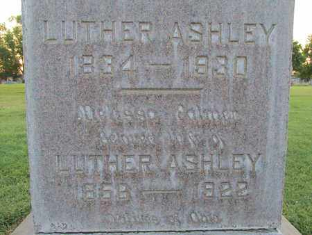 ASHLEY, LUTHER - Sutter County, California | LUTHER ASHLEY - California Gravestone Photos