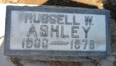 ASHLEY, RUSSELL WILBURN - Sutter County, California | RUSSELL WILBURN ASHLEY - California Gravestone Photos