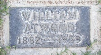 ATWOOD, WILLIAM - Sutter County, California | WILLIAM ATWOOD - California Gravestone Photos