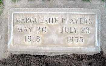 AYERS, MARGUERITE PAULINE - Sutter County, California | MARGUERITE PAULINE AYERS - California Gravestone Photos