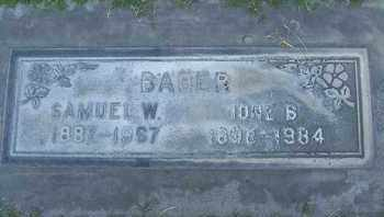 BABER, IONE - Sutter County, California | IONE BABER - California Gravestone Photos