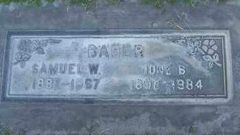 BABER, IONE - Sutter County, California   IONE BABER - California Gravestone Photos