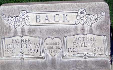 BACK, FAYE M. - Sutter County, California   FAYE M. BACK - California Gravestone Photos
