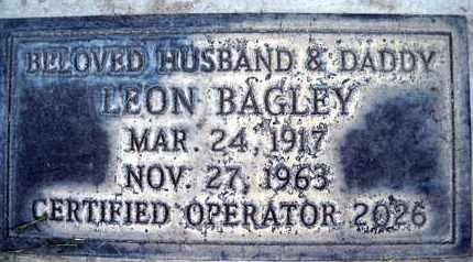 BAGLEY, LEON - Sutter County, California | LEON BAGLEY - California Gravestone Photos