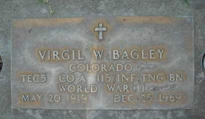 BAGLEY, VIRGIL W. - Sutter County, California | VIRGIL W. BAGLEY - California Gravestone Photos