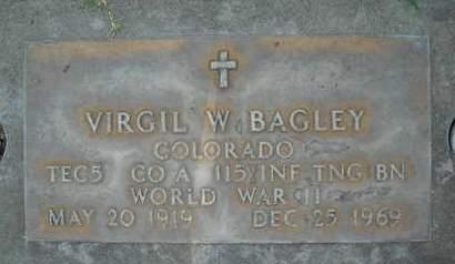 BAGLEY, VIRGIL W. - Sutter County, California   VIRGIL W. BAGLEY - California Gravestone Photos