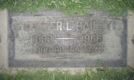 BAILEY, WALTER LLOYD - Sutter County, California | WALTER LLOYD BAILEY - California Gravestone Photos