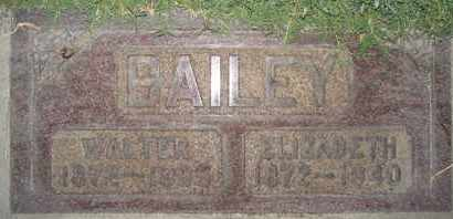 BAILEY, ELIZABETH - Sutter County, California | ELIZABETH BAILEY - California Gravestone Photos