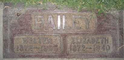 BAILEY, WALTER E. - Sutter County, California | WALTER E. BAILEY - California Gravestone Photos
