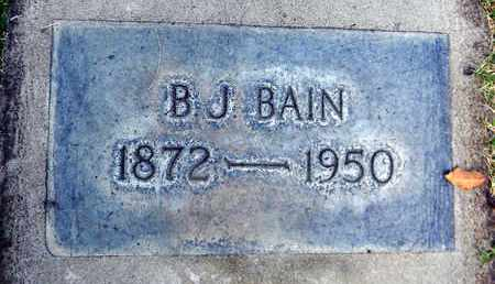 BAIN, BEVERLEY JAMES - Sutter County, California   BEVERLEY JAMES BAIN - California Gravestone Photos