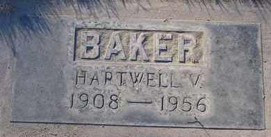 BAKER, HARTWELL VENOR - Sutter County, California   HARTWELL VENOR BAKER - California Gravestone Photos