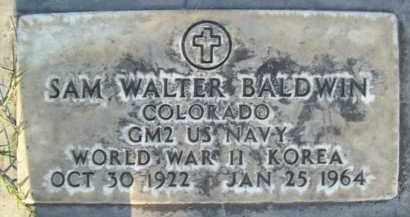 BALDWIN, SAM WALTER - Sutter County, California   SAM WALTER BALDWIN - California Gravestone Photos