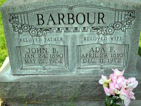BARBOUR, JOHN B. - Sutter County, California | JOHN B. BARBOUR - California Gravestone Photos