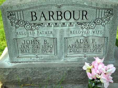 BARBOUR, ADA FRANCES - Sutter County, California   ADA FRANCES BARBOUR - California Gravestone Photos