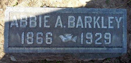 BARKLEY, ABBIE A. - Sutter County, California   ABBIE A. BARKLEY - California Gravestone Photos