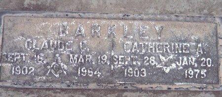 BARKLEY, CATHERINE A. - Sutter County, California | CATHERINE A. BARKLEY - California Gravestone Photos