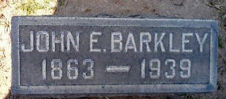 BARKLEY, JOHN E. - Sutter County, California | JOHN E. BARKLEY - California Gravestone Photos