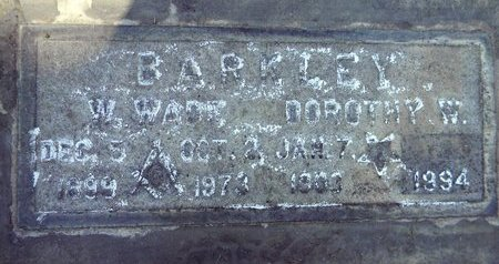 BARKLEY, DOROTHY W. - Sutter County, California | DOROTHY W. BARKLEY - California Gravestone Photos