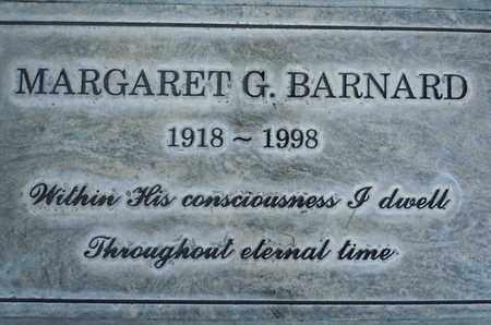 BARNARD, MARGARET G. - Sutter County, California | MARGARET G. BARNARD - California Gravestone Photos