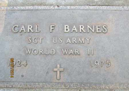 BARNES, CARL FRANCIS - Sutter County, California | CARL FRANCIS BARNES - California Gravestone Photos
