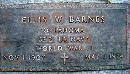 BARNES, ELLIS WASHINGTON - Sutter County, California | ELLIS WASHINGTON BARNES - California Gravestone Photos