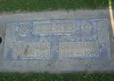 BARNES, GEORGE PETTIS - Sutter County, California | GEORGE PETTIS BARNES - California Gravestone Photos