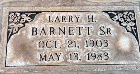BARNETT, SR., LAWRENCE HENRY - Sutter County, California   LAWRENCE HENRY BARNETT, SR. - California Gravestone Photos