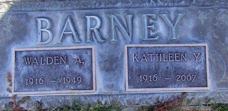 BARNEY, WALDEN AMON - Sutter County, California | WALDEN AMON BARNEY - California Gravestone Photos