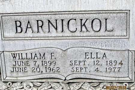 BARNICKOL, WILLIAM F. - Sutter County, California | WILLIAM F. BARNICKOL - California Gravestone Photos